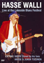 WALLI, Hasse: Live At The Lakeside Blues Festival (DVD)